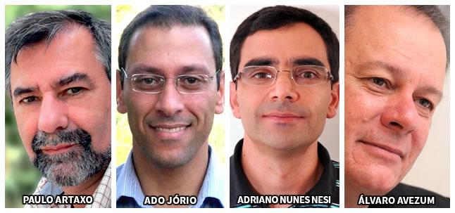 O que andavam aprontando essas mentes brilhantes dos 14 aos 25 anos? Aí estão Paulo Artaxo, Ado Jorio, Adriano Nunes-Nesi e Alvaro Avezum