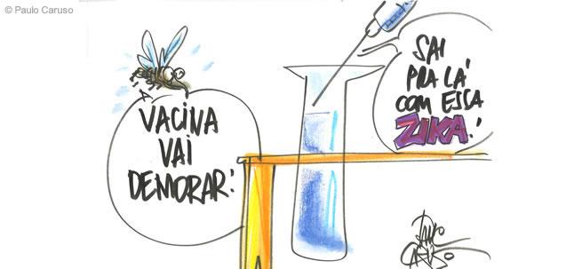 Um ambiente de disputa já cerca a busca pela vacina contra zika