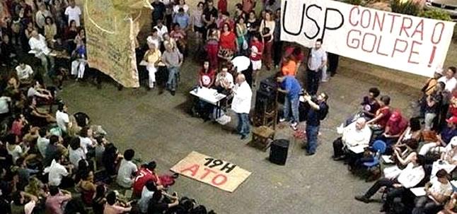 Debate se espalha na universidade pública como resistência ao autoritarismo