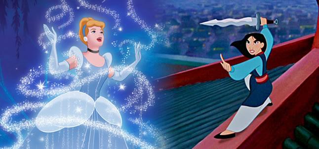 As princesas da Disney, a chinesa Mulan e as crianças brasileiras