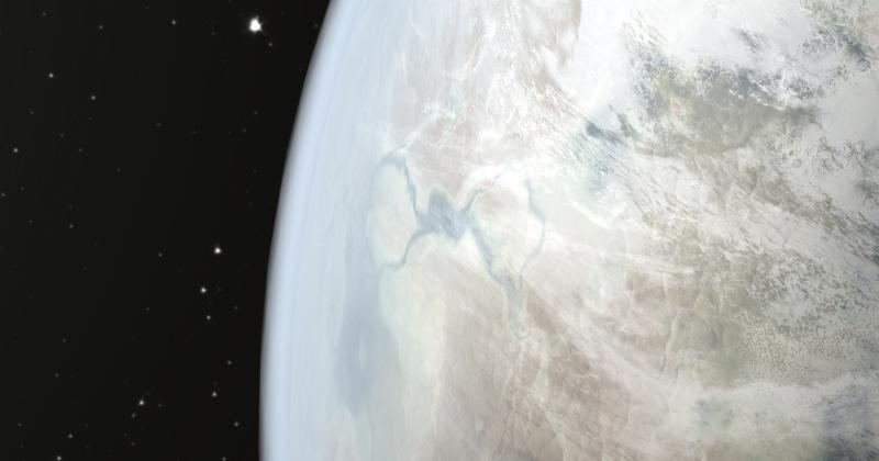 Astrônomos descobrem planeta gigante ao redor de estrela jovem
