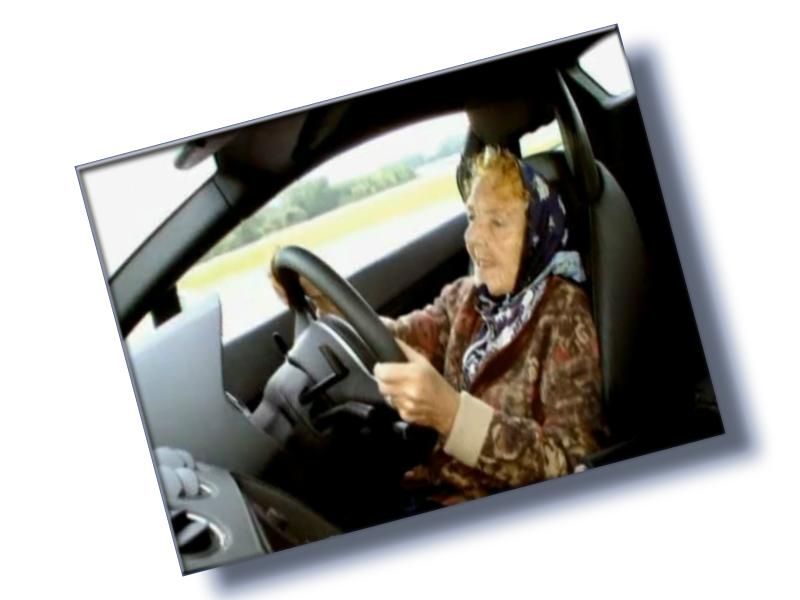Um carro menos poluente para Dona Claudine, por favor