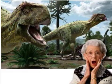 Dona Claudine no Jurassic Park boliviano