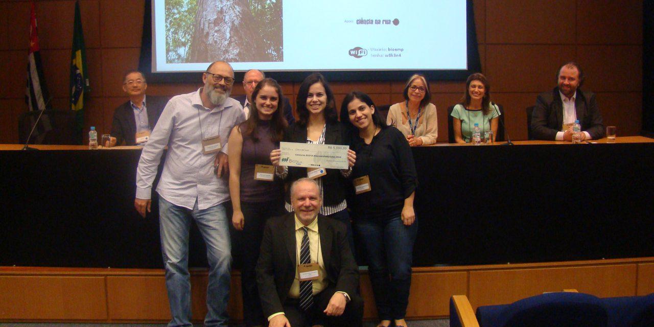 Projeto de nova cadeia produtiva de insumos vegetais  vence concurso Biota Empreendedorismo
