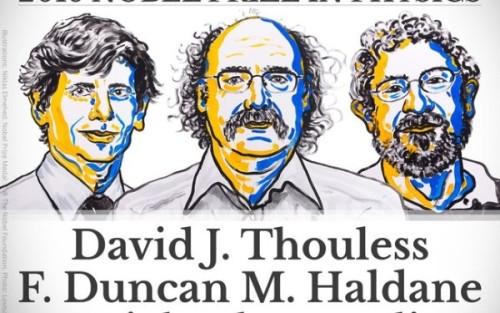 Nobel de Física premia propriedades topológicas da matéria