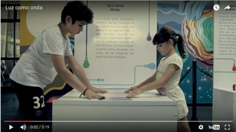 Plataforma digital da exposição Jogos de luz já vale e segue em construção