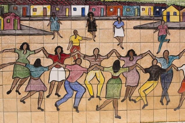 Detalhe da obra Brincadeira de Roda (Ciranda), 2008