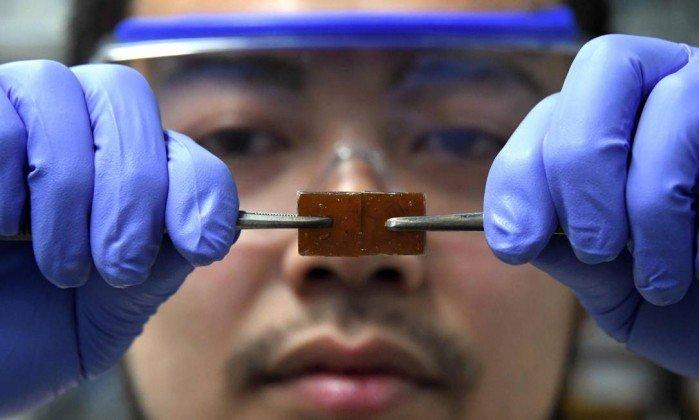 Cientista japonês inventa vidro que se regenera depois de quebrado