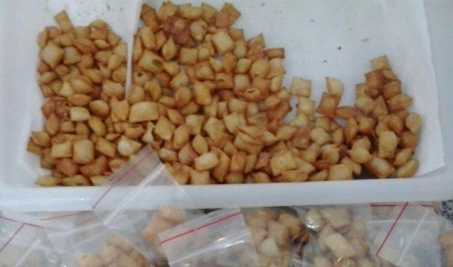 Alimento funcional enriquecido com proteína do pescado