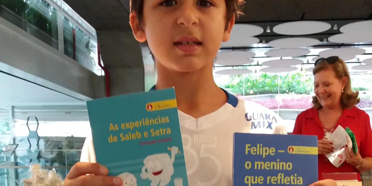 Livro de física para crianças: raios de luz, imagens invertidas e muita reflexão