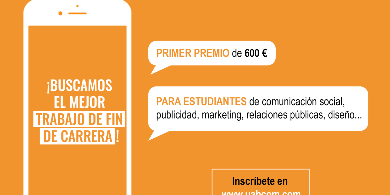 Universidade Autônoma de Barcelona quer premiar projetos de comunicação de estudantes do mundo todo