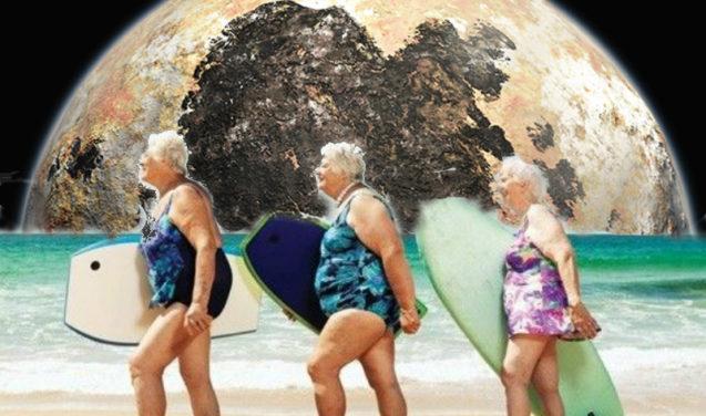 #Partiu dunas de Plutão