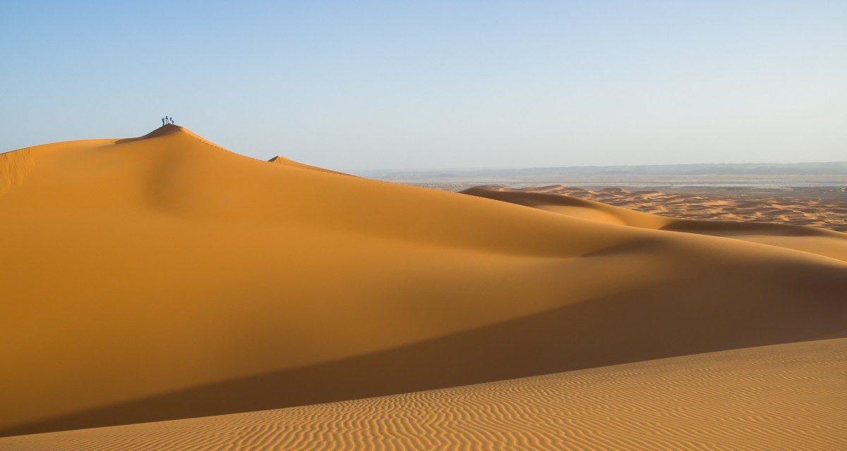 Pesquisa ajuda a entender a dinâmica de formação das dunas